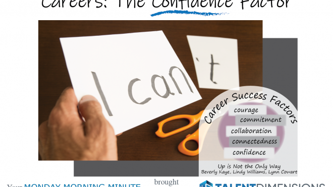 Monday Morning Minute – Confidence and Careers!