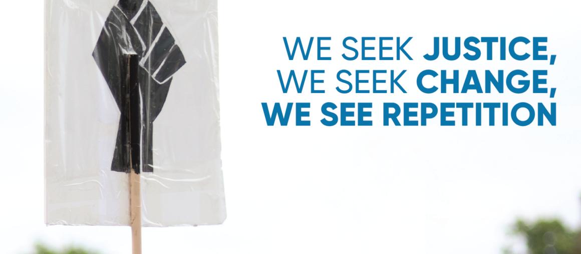 We Seek Justice, We Seek Change, We See Repetition - The murder of Daunte Wright